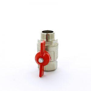 Кран шаровой муфта/резьба полнопроходной Itap IDEAL 093 1/2 (бабочка)