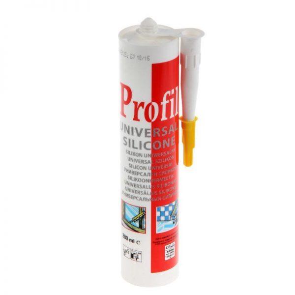 Герметик силиконовый санитарный бесцветный (270мл) Profil