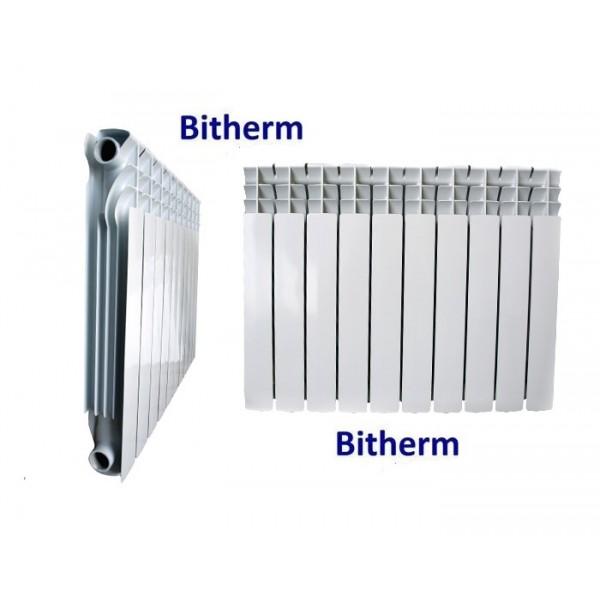 Радиатор биметал. 500/80 8 секций Bitherm