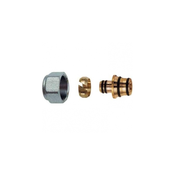 Концовка для м/п труб 20х2 с накидной гайкой М24х19 FC 6055 80204 (Арт.:FC 6055 80204)