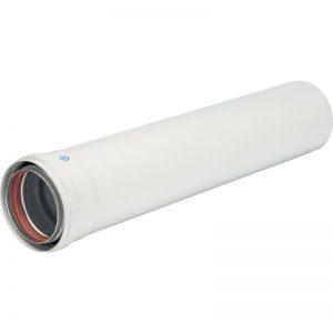 Труба DN 80 250 мм п/м STOUT Элемент дымохода SCA-0080-000250