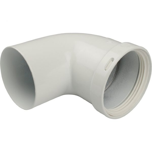 Отвод 90° п/м DN80 STOUT Элемент дымохода SCA-0080-000090