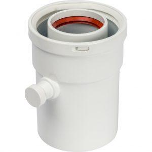 Конденсатосборник вертик.  DN60/100, п/м уплотнения в компл. STOUTSCA-6010-000101