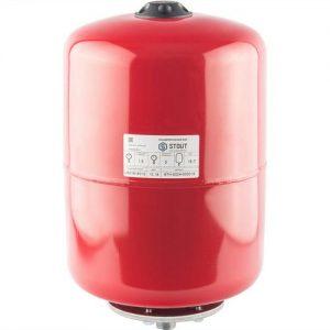 Расширительный бак 24 отопление (красный) STOUT