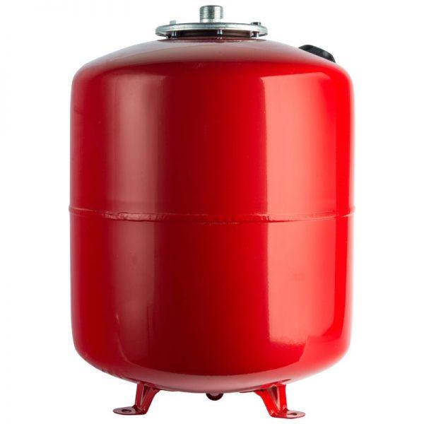 Расширительный бак 50 отопление (красный) STOUT