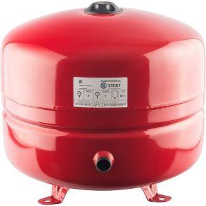Расширительный бак 35 отопление (красный) STOUT