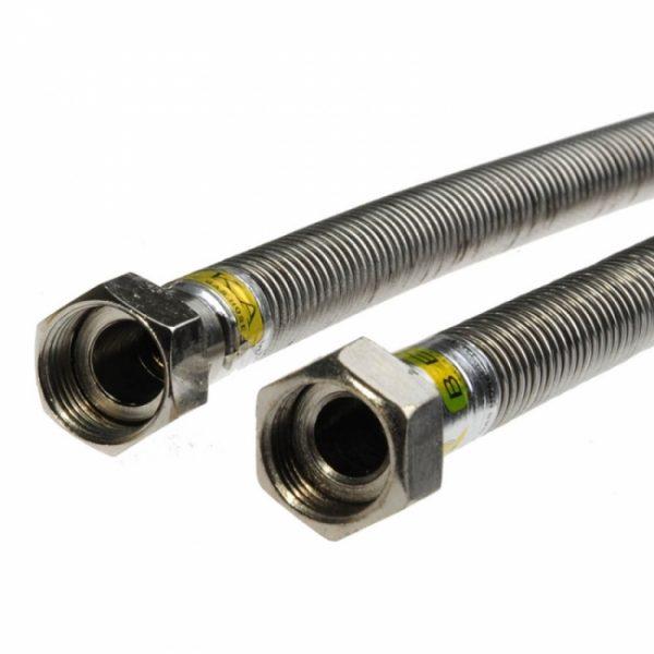 Подводка газ сильфон. TUBOFLEX 1.0 1/2 (фикс) г/г