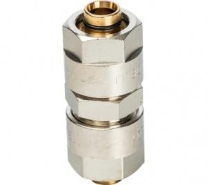 Муфта (16х2,0) для металлопластиковых труб винтовой Prandelli Multyrama