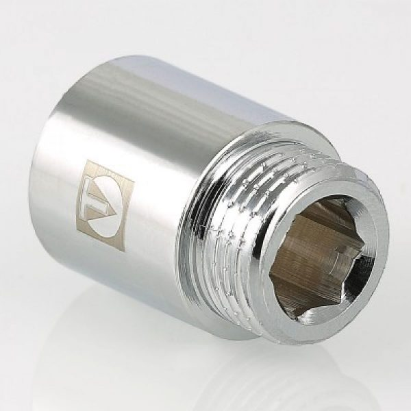 """Удлинитель хромированный 1/2""""х50  мм VALTEC"""