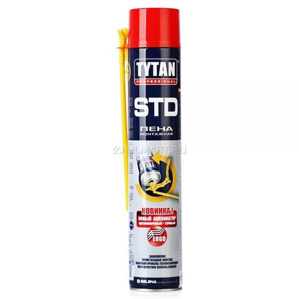 Пена монтажная TYTAN Professional STD ЭРГО, 750 мл, зимняя
