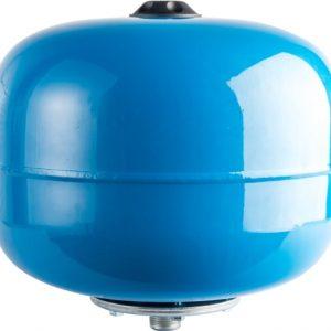 Расширительный бак, гидроаккумулятор 24 вертикальный (синий) STOUT
