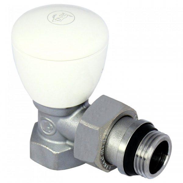 Вентиль ручной угловой с отводом R5TG, 3/4 R5X034 Giacomini