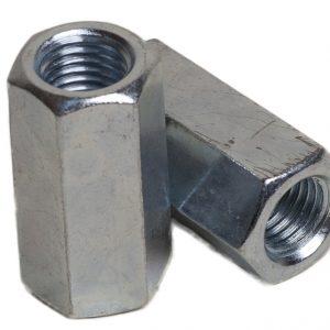 Гайка соединительная, оц. М8х24 DIN6334