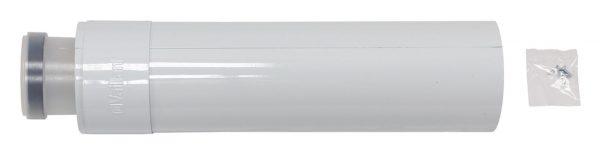 Удлинительная труба 80/125мм, 0.5 м РР Vaillant 303202