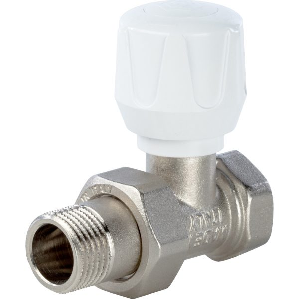 Клапан ручной терморегулирующий, прямой 1/2 STOUT