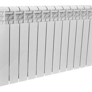 Радиатор биметал ROMMER Profi BM 350 (BI350-80-80-130) 10 секций  (RAL9016)