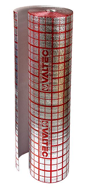 Подложка для теплого пола VALTEC, мультифольга 3 мм 30 кв.м