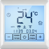 Терморегулятор SE 200 белый, цифр.упр-е, сенс.экран, програмир на 7дн/4соб