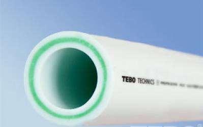 Труба 32 SDR6 (стекловолокно) TEBO