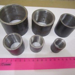 Муфта 1 вн/вн стальная  25