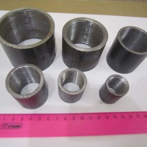 Муфта 1 1/4 вн/вн стальная 32