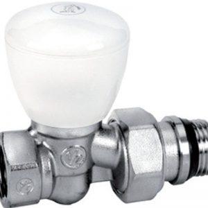 Вентиль ручной прямой с отводом R6TG, 3/4 хром R6X034 Giacomini