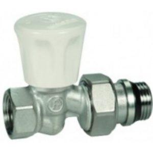 Вентиль ручной прямой с отводом R706A, 1/2, хром R706X013 Giacomini