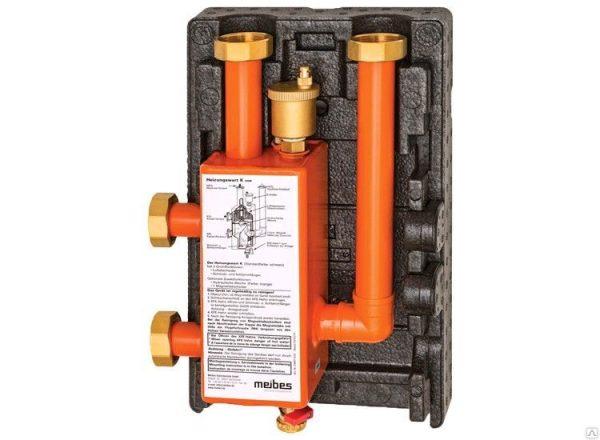Гидравлическая стрелка МНK 32 (3 м3/ч, 85 кВт при 25 °С), DN 32, 6 барME 66391.3 RU