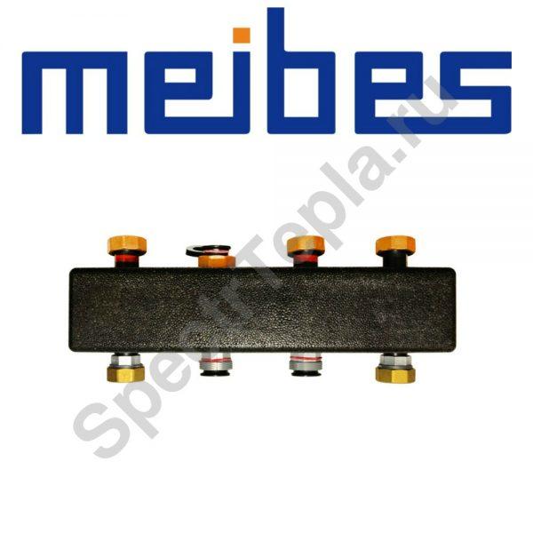Коллектор распределительный до 3 отопительных контуров ME 66301.2 RU