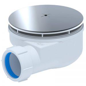 Сифон для душ. поддона 50*40 h53 Clik-Clak (сетка) Е450CLS