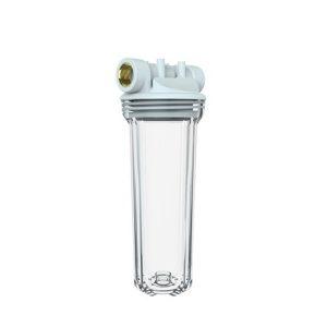 Фильтр магистральный 3/4'' для хол. воды прозр. 10'' UNICORN