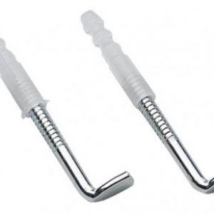 Крепеж водонагревателя (комплект костыль 8х100+дюбель,2шт)