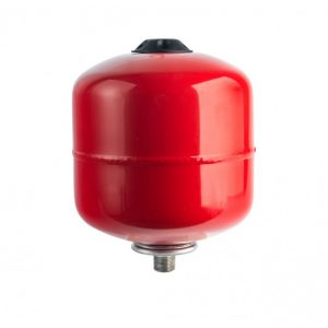 Расширительный бак отопление 8 л. (красный) STOUT