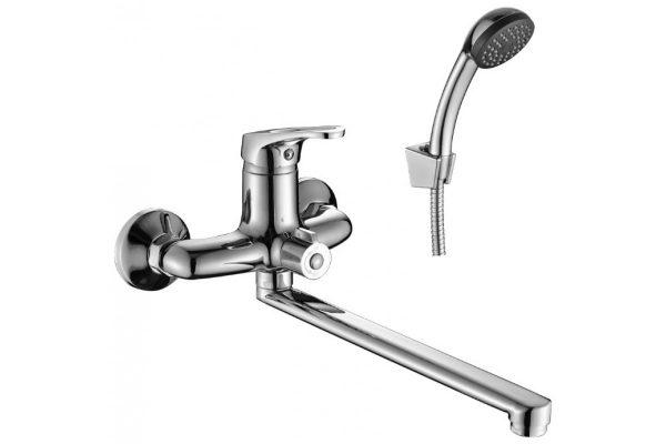 Смеситель для ванны и умывальника 35к 2139-ВF FRAP с отв S-нос 35см