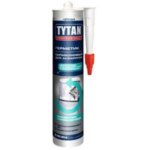 Герметик силиконовый для аквариумов 310 мл TYTAN Professional бесцветный