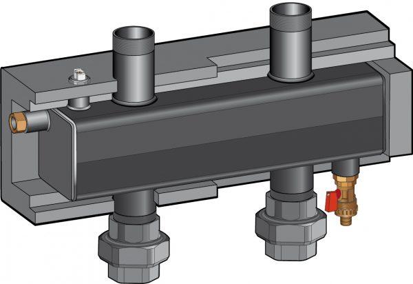 Разделительный модуль Huch-Multi DN 32 (106.01.32.00), Huch EnTEC