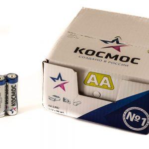 Батарейки алкалиновые Космос LR6