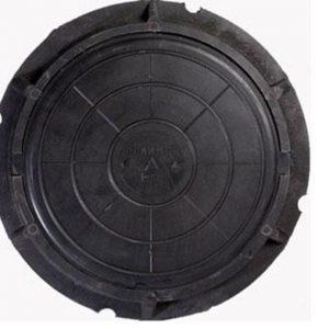 Люк канализ. полимерный 30кН черный