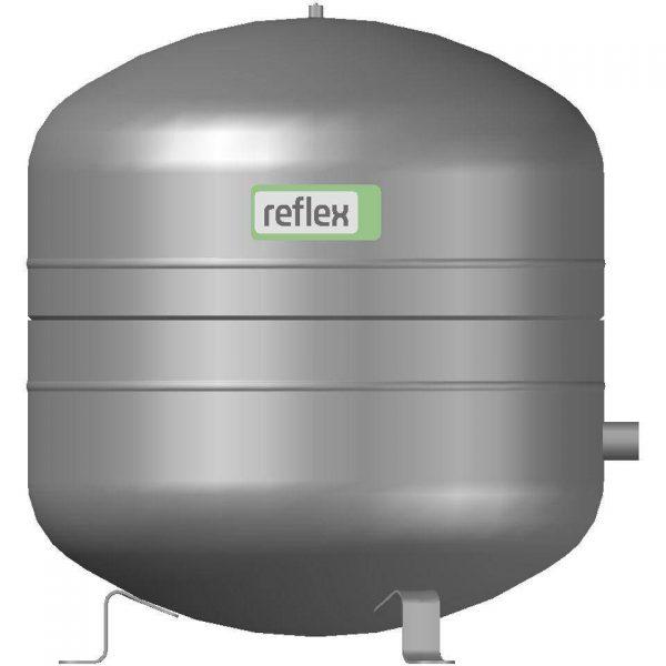 Мембранный бак NG 50 для отопления вертикальный (цвет серый) Reflex 8001011