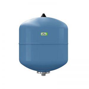 Мембранный бак DE 25 для водоснабжения вертикальный (цвет синий)  Reflex 7304000