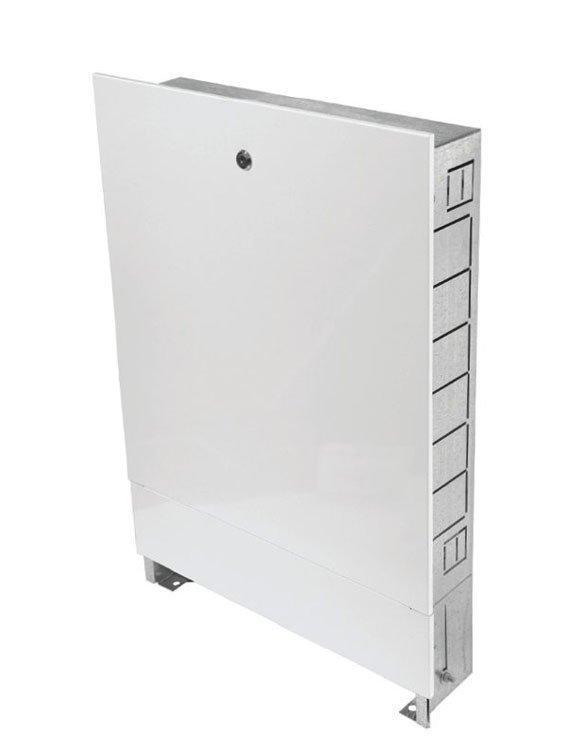 Шкаф распределительный встроенный  (ШРВ-6) 670х125х1194 (17-18 выходов)ГРОТА