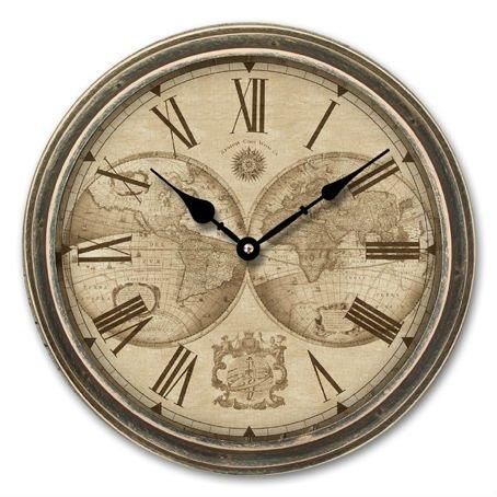 Часы настенные Engy EC-17, 40,5*4,5см (круглые) плавный ход, пластик,  АА*1шт нет в компл 9317