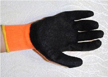 Перчатки х/б с ПВХ покр. Грейфер (полуоблив) оранжевые