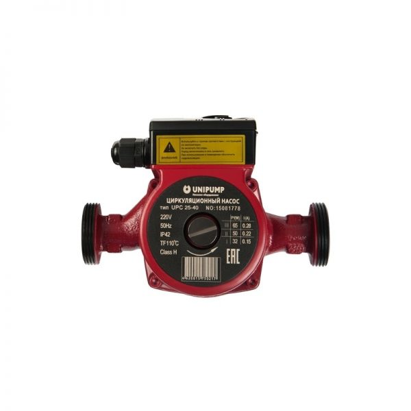 Циркуляционный насос (отопл.) UPС 25-40 180
