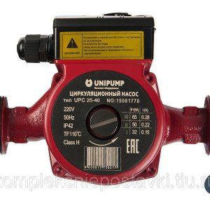 Циркуляционный насос (отопл.) UPС 25-60 180