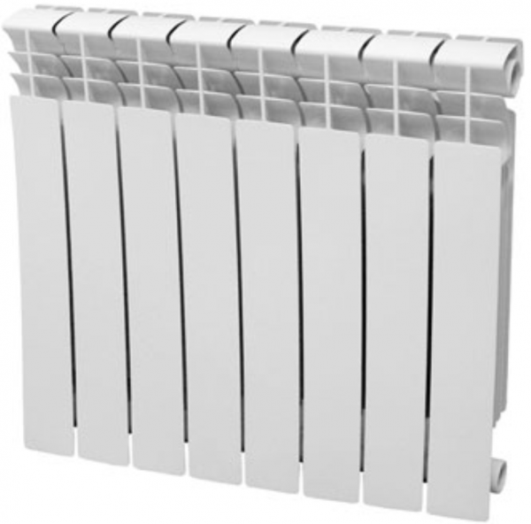 Радиатор алюминиевый 500/80 Torrid 8 секций