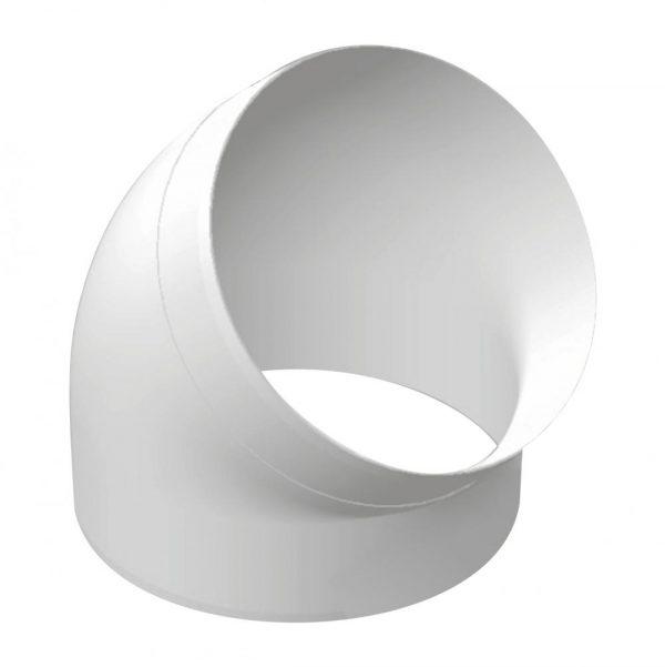 Колено круглое пластик 45, D160, 16ККП